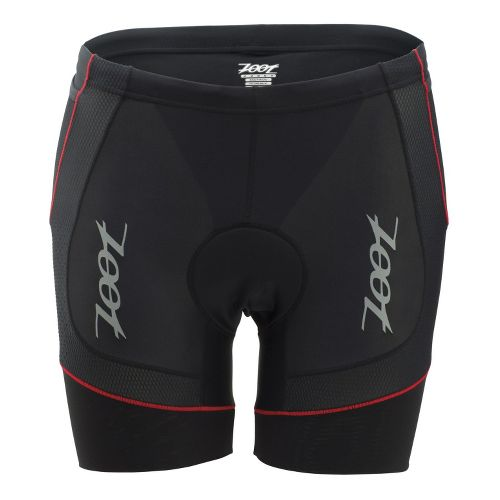 Mens Zoot Performance Tri 6 Inch Fitted Shorts - Black/Zoot Red XL