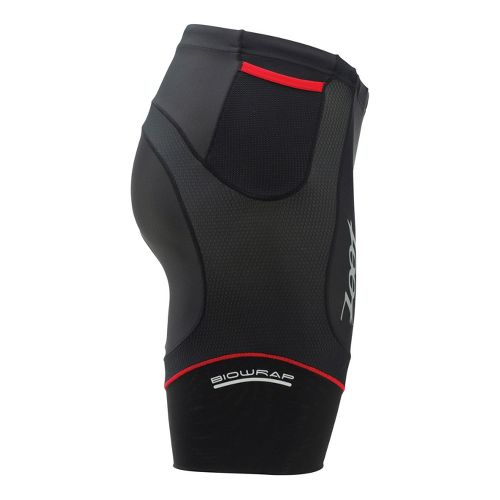 Mens Zoot Performance Tri 8 Inch Fitted Shorts - Black/Zoot Red L