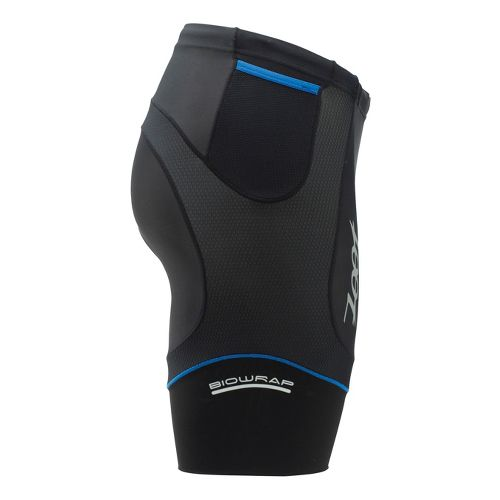 Mens Zoot Performance Tri 8 Inch Fitted Shorts - Black/Zoot Blue S