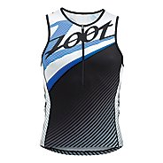Mens Zoot Performance Tri Team Tank Sleeveless Technical Tops