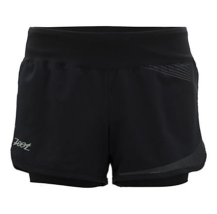 Womens Zoot Ultra Run BIOwrap 3 Inch 2-in-1 Shorts