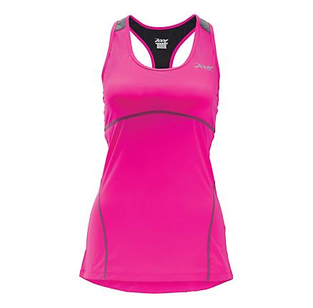 Womens Zoot Performance Run Swift Racerback Sport Top Bras