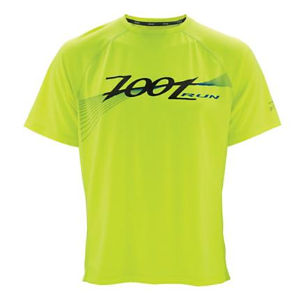 Mens Zoot Active Run Screenprint Tee Short Sleeve Technical Tops