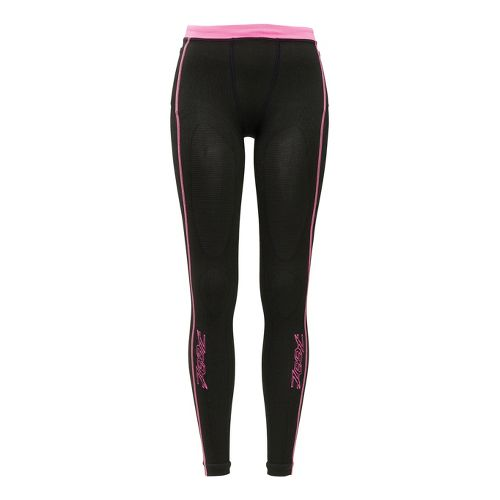 Womens Zoot Ultra 2.0 CRx Tight Fitted Tights - Black/PinkGlo 4