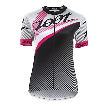 Womens Zoot Ultra Cycle Team Jersey Short Sleeve Technical Tops