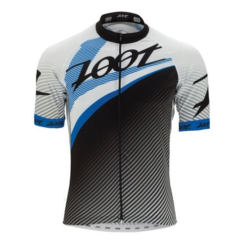 Mens Zoot Ultra Cycle Team Jersey Short Sleeve Technical Tops - Zoot Blue XL