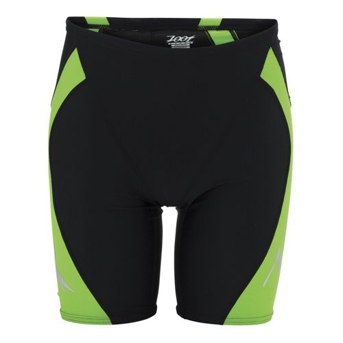 Mens Zoot Performance Jammer Swimming UniSuits - Black/Green Flash S