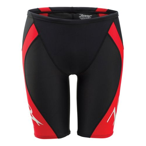 Mens Zoot Performance Jammer Swimming UniSuits - Black/Zoot Red L