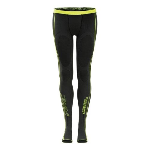 Zoot Ultra Recovery 2.0 CRx Fitted Tights - Graphite/Safety Yellow 3