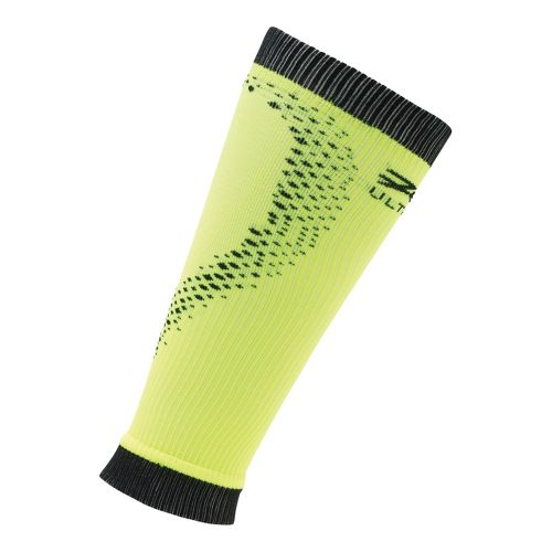 Zoot Ultra 2.0 CRx Calf Sleeve Injury Recovery - Black/Safety Yellow 3