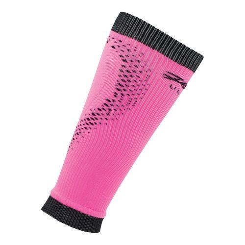 Zoot Ultra 2.0 CRx Calf Sleeve Injury Recovery - PinkGlo/Black 4
