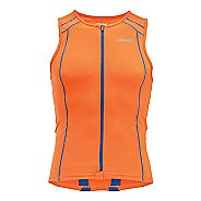 Mens Zoot Performance Full Zip Tri Tank Sleeveless Technical Tops
