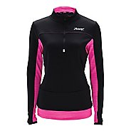 Womens Zoot Ultra Run MEGAheat Long Sleeve 1/2 Zip Technical Tops