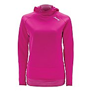 Womens Zoot ULTRA Run MEGAheat Hoodie Long Sleeve No Zip Technical Tops
