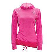 Womens Zoot Performance Run MICROlite+ Hoodie Long Sleeve No Zip Technical Tops