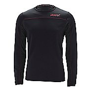 Mens Zoot ULTRA Run MEGAheat Tee Long Sleeve No Zip Technical Tops