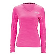Womens Zoot Performance Run MICROlite+ Tee Long Sleeve No Zip Technical Tops
