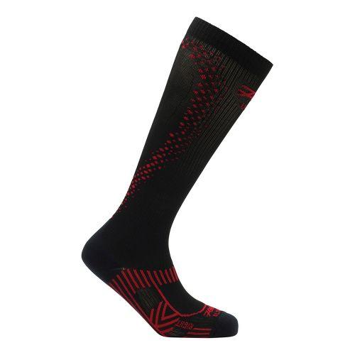 Mens Zoot ULTRA 2.0 CRx Socks - Black/Zoot Red 3