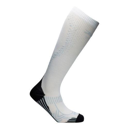 Mens Zoot ULTRA 2.0 CRx Socks - White/Graphite 3