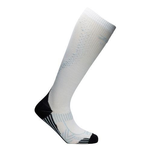 Womens Zoot ULTRA 2.0 CRx Socks - White/Graphite 4