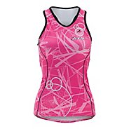 Womens Zoot ULTRA Tri BCRF Racerback Singlets Technical Tops