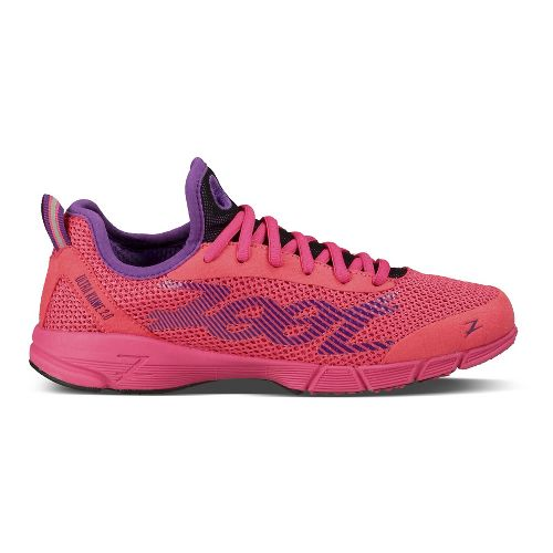 Womens Zoot Ultra Kiawe 2.0 Running Shoe - Pink/Purple 9
