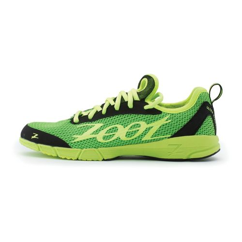 Womens Zoot Ultra Kiawe 2.0 Running Shoe - Green/Black 10