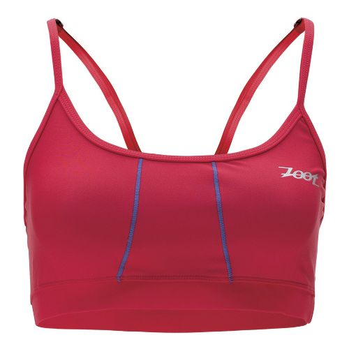 Womens Zoot Performance Tri Cami Sports Bras - Zoot Red M