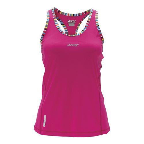 Womens Zoot Ultra Run Icefil Singlets Technical Tops - Beet XS