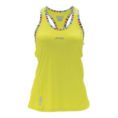 Womens Zoot Ultra Run Icefil Singlets Technical Tops - Flash M