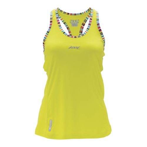 Womens Zoot Ultra Run Icefil Singlets Technical Tops - Flash S