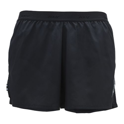 Mens Zoot Ultra Run Icefil 3 Inch Lined Shorts - Black/Black XL