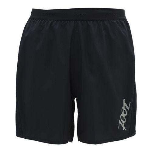 Mens Zoot Ultra Run Icefil 6 Inch Lined Shorts - Black/Black XL