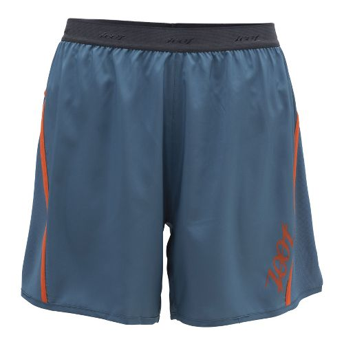 Mens Zoot Ultra Run Icefil 6 Inch Lined Shorts - Stellar/Flame M