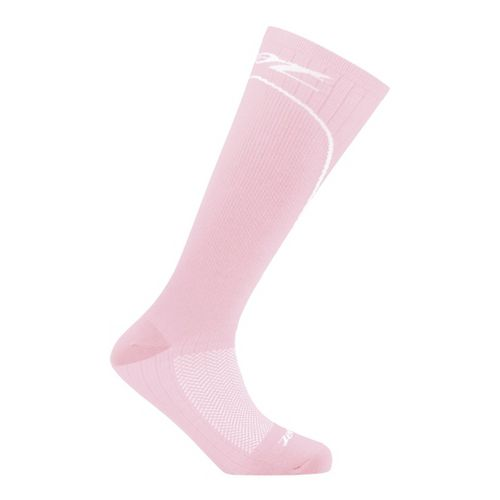 Womens Zoot Performance 2.0 CRx Sock Injury Recovery - Pink/White M