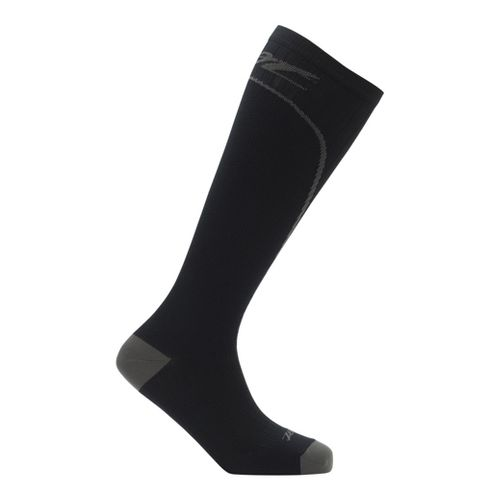 Mens Zoot Performance 2.0 CRx Sock Injury Recovery - Black/Graphite L