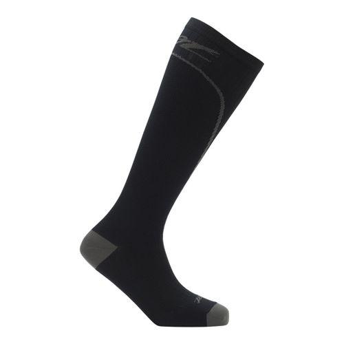 Mens Zoot Performance 2.0 CRx Sock Injury Recovery - Black/Graphite M
