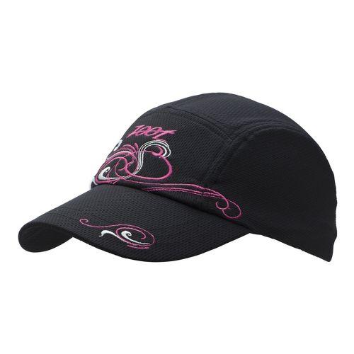 Womens Zoot Performance Ventilator Cap Headwear - Black/Beet