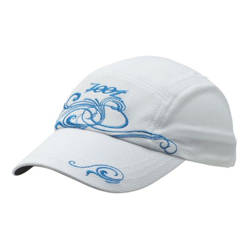 Womens Zoot Performance Ventilator Cap Headwear - White/Splash