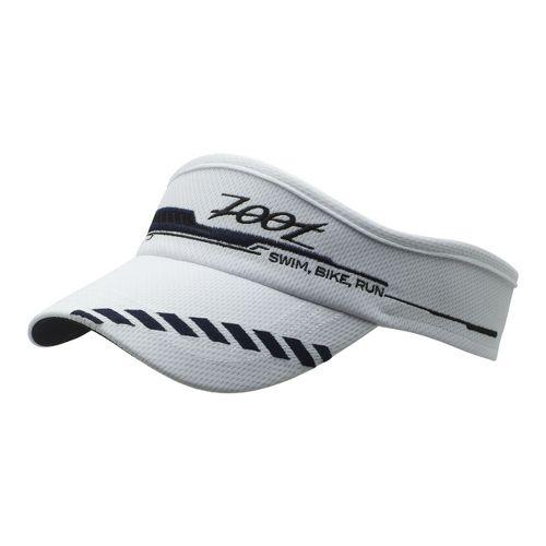 Mens Zoot Performance Ventilator Visor Headwear - White/Black