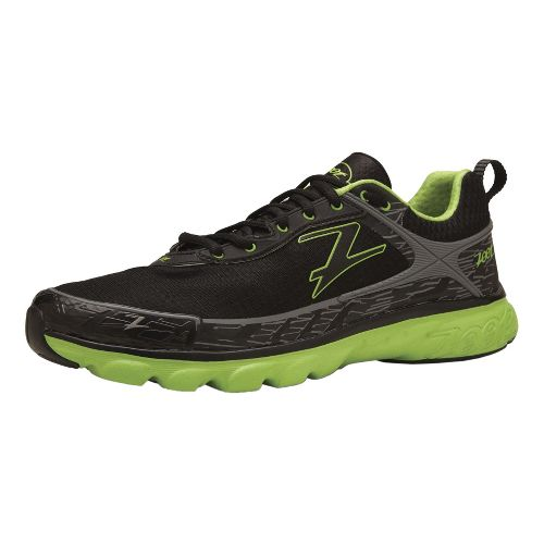 Mens Zoot Solana ACR Running Shoe - Black/Green 10.5