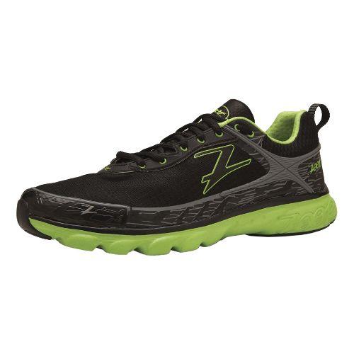 Mens Zoot Solana ACR Running Shoe - Black/Green 8.5