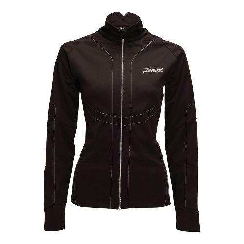 Womens Zoot ULTRA ZROwind Softshell Running Jackets - Black XS