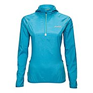 Womens Zoot ETHERwind Long Sleeve 1/2 Zip Technical Tops