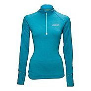 Womens Zoot ULTRA MEGAheat Long Sleeve 1/2 Zip Technical Tops