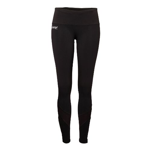 Womens Zoot ULTRA MEGAheat Fitted Tights - Black XS