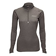 Womens Zoot MICROlite+ Long Sleeve 1/2 Zip Technical Tops