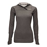 Womens Zoot MICROlite+ Hoodie Long Sleeve No Zip Technical Tops