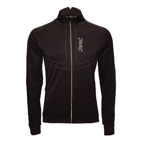 Mens Zoot ULTRA ZROwind Softshell Running Jackets - Black S