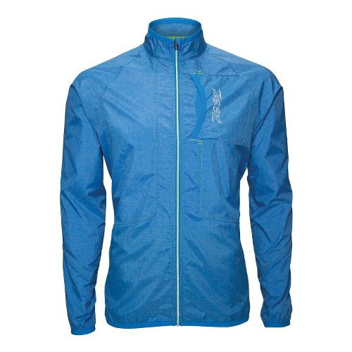 Mens Zoot ETHERwind Running Jackets - Zoot Blue L